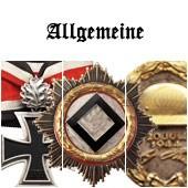 Наградные кресты, ордена