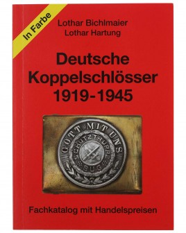 German Belt Buckles 1919-1945: Special Catalogue with values