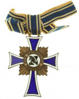 German mother cross in bronze - 2nd Model