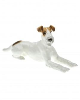 Fox Terrier (Foxl), lying (Allach Model No 12) - Kärner