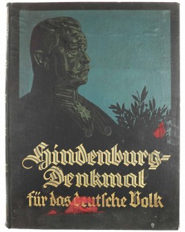 Hindenburg - Memorial to the German people
