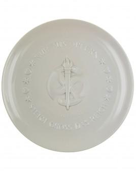 SS Plate: Julfest 1942 - Allach porcelain