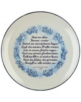Plate - Julfest 1944 by Allach Porcelain