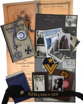 Documents, Awards, Badges of U-boat commanders K.H. Noll