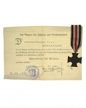 © DGDE GmbH - German Cross of Honor 1914/18 - Wilhelmine Lanz