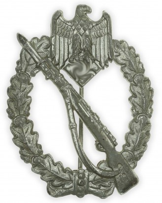 © DGDE GmbH - German Silver Grade Infantry Assault Badge