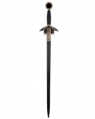 © DGDE GmbH - Early Luftwaffe Officer Sword [M1935] with Hanger - Paul Weyersberg & Co., Solingen