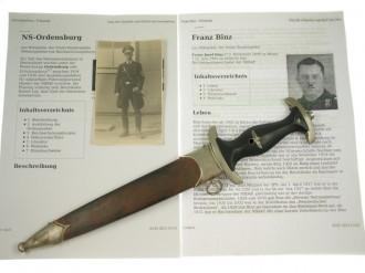 © DGDE GmbH - SS Dagger, German - RSL Vogelsang 16.III.1934