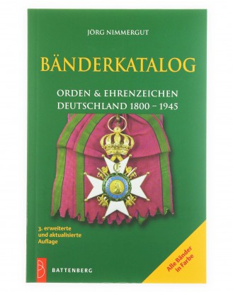 © DGDE GmbH - Tapes Catalog Orders and decorations Germany 1800 - 1945