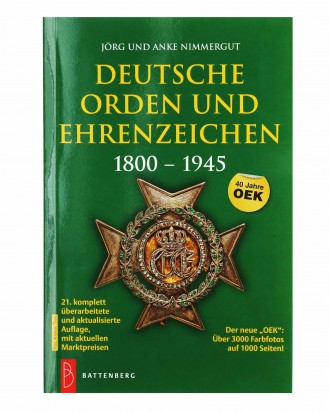 © DGDE GmbH - German Orders and Medals: 1800 - 1945 by Nimmergut