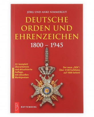 © DGDE GmbH - German Orders and Medals 1800-1945 by Nimmergut