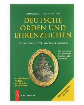 © DGDE GmbH - Deutsche Orden und Ehrenzeichen: Drittes Reich, DDR und Bundesrepublik - 10. Auflage