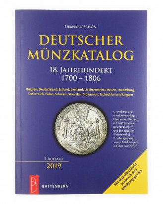 © DGDE GmbH - German coin catalog 18th century 1700 - 1806 by Gerhard Schön