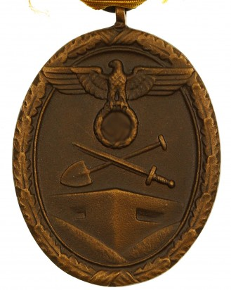 &copy DGDE GmbH - German West Wall Medal with ribbon