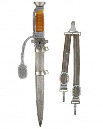 &copy DGDE GmbH - DRK Führerdolch [M1938] mit Gehänge und Portepee