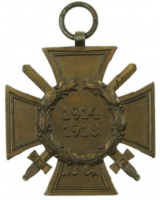 © DGDE GmbH - German Cross of Honor with swords 1914-1918 by PM