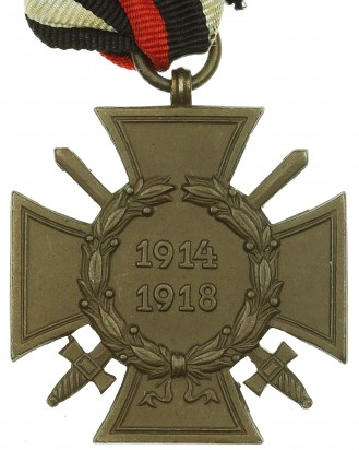 © DGDE GmbH - German Cross of Honor with swords 1914-1918 by OLC
