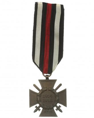 &copy DGDE GmbH - Ehrenkreuz mit Schwertern für Frontkämpfer 1914-1918