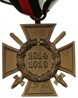 © DGDE GmbH - German Cross of Honor with swords 1914-1918 by R.V. Pforzheim 2