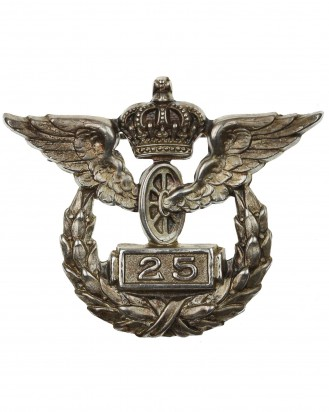 &copy DGDE GmbH - Prussian Railroad 25 Years Service Badge by Wagner