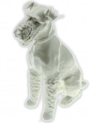 © DGDE GmbH - Sitting Fox Terrier (Allach Model No 105) by Franz Nagy