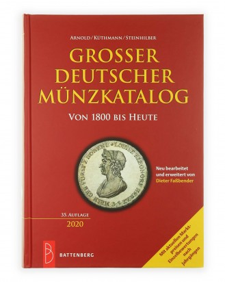 © DGDE GmbH - Large German coin catalog from 1800 to today - 35th edition 2020