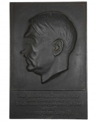 &copy DGDE GmbH - Gussplatte Adolf Hitler - Ges.Gesch.