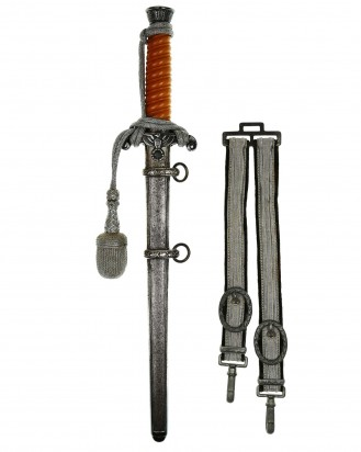 © DGDE GmbH - Army Officer's Dagger with Hangers and Portepee