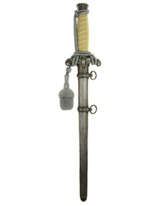© DGDE GmbH - Army Officer's Dagger with Portepee by Alcoso Solingen