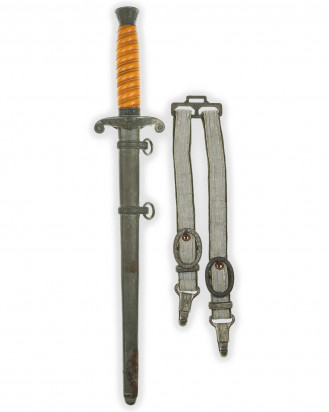 © DGDE GmbH - Army Officer's Dagger with Hangers by Carl Eickhorn Solingen
