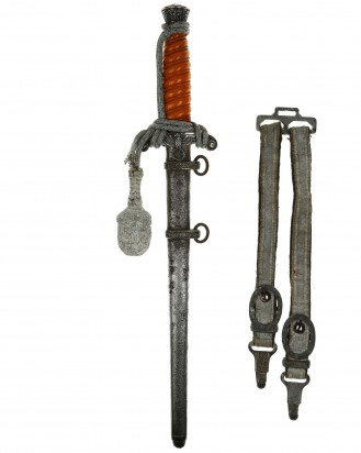 © DGDE GmbH - Army Officer's Dagger with Hangers by Eickhorn Solingen