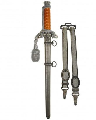 © DGDE GmbH - Army Officer's Dagger [M1935] with Hangers & Portepee by Rich. Abr. Herder Solingen