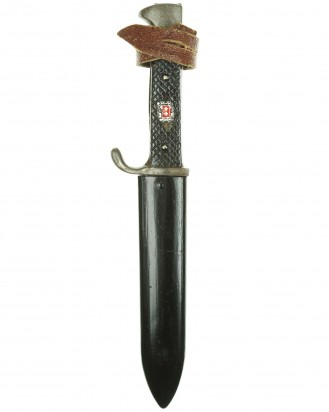 © DGDE GmbH - Hitler Youth Knife with Motto [Early-period] by Puma Solingen