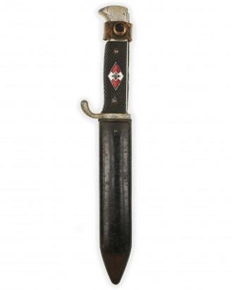 © DGDE GmbH - Hitler Youth Knife [Late-period] by RZM M7/13 (Artur Schüttelhöfer Solingen)