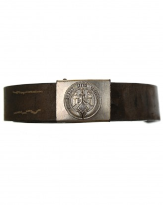 © DGDE GmbH - HY [Hitler Youth] Belt and Buckle by RZM M4/24