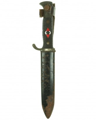 © DGDE GmbH - Hitler Youth Knife [Late-period] by RZM M7/40 (Hartkopf & Co. Solingen)