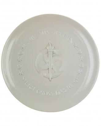 © DGDE GmbH - SS Plate: Julfest 1942 - Allach porcelain