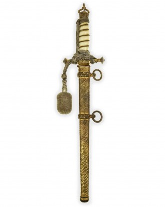 © DGDE GmbH - Imperial Naval Dirk [M1905] with Navy-Knot & Ivory Grip