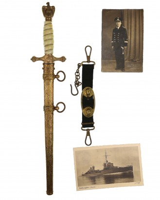 © DGDE GmbH - Navy Officer Dagger [2nd Model] by WKC Solingen