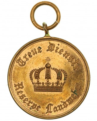 &copy DGDE GmbH - Landwehr Dienstauszeichnung 2.Klasse 1913