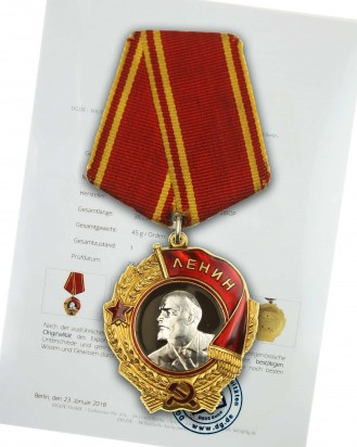 &copy DGDE GmbH - Leninorden der UdSSR