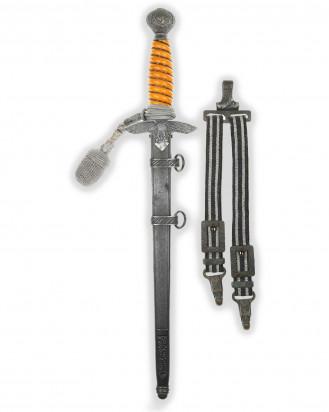 "© DGDE GmbH - Luftwaffe Dagger [1937] with blade etching on both sides - ""Emil Voos"" design"