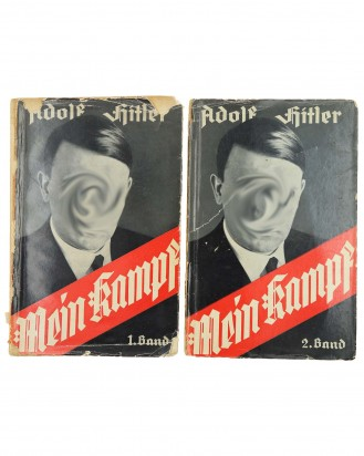 © DGDE GmbH - Mein Kampf - My Struggle (Edition I, II) by Adolf Hitler