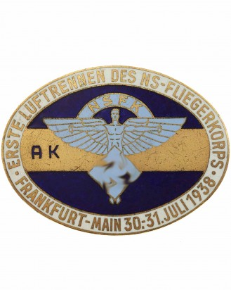 © DGDE GmbH - NSFK Abzeichen: Erste Luftrennen des NS-Fliegerkorps Frankfurt-Main 1938
