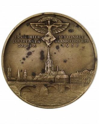&copy DGDE GmbH - NSFK Table Medal: Erste Internationale Luftrennen Frankfurt 1938
