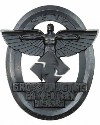 © DGDE GmbH - Наградная плакетка NSFK «Grossflugtag Frankfurt 1939»
