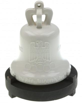 &copy DGDE GmbH - Olympiaglocke 1936 mit Sockel - KPM Porzellan