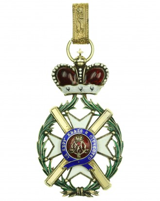 © DGDE GmbH - Order of the Cross of Takowo 1. model (1865-1868), Commander's Cross