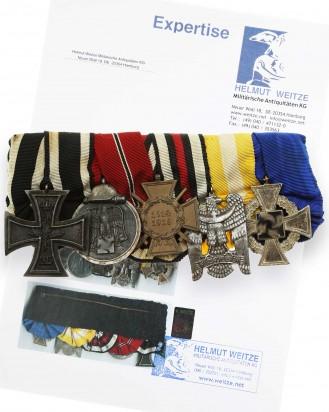 © DGDE GmbH - First & Second War German Medal Bar