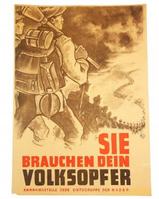 © DGDE GmbH - Poster: You need your nation's sacrifice